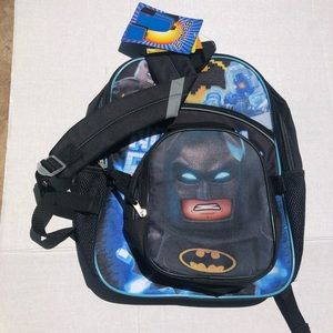 Other - Kids LEGO Batman backpack with lunch bag